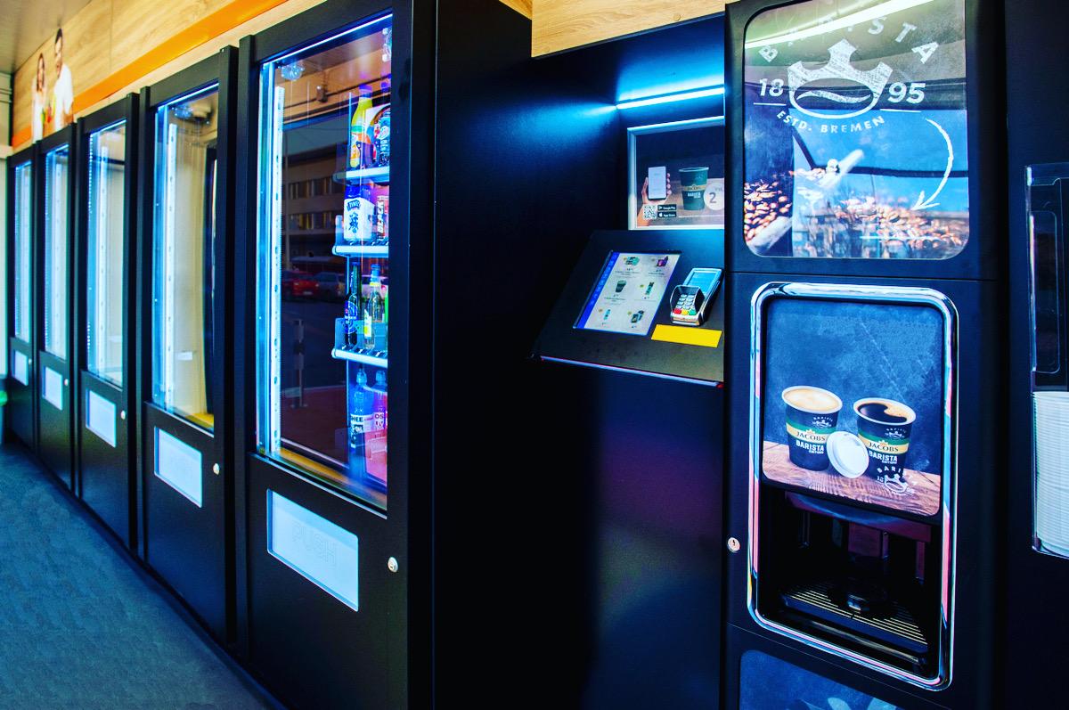 24-7-Shop: Automatenshop & Automaten Minimarkt by Flavura Automaten: Automaten Shop, Automaten Store, Automaten Supermarkt & Automatenladen
